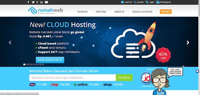 Web Hosting Murah Jogja Versi Rafsablog