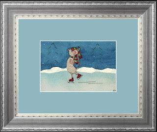Christmas Mouse artpal.com/tawnyaboe