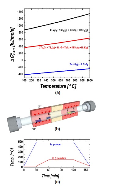 [Paper] Vapor phase synthesis of TaS2 nanocrystals with iodine astransport agent