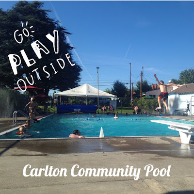 Carlton Municipal Pool Opens!