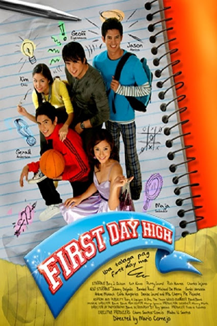 First Day High is a 2006 Philippine comedy film starring Geoff Eigenmann, Jason Abalos and Maja Salvador with Gerald Anderson and Kim Chiu in their film debut.
