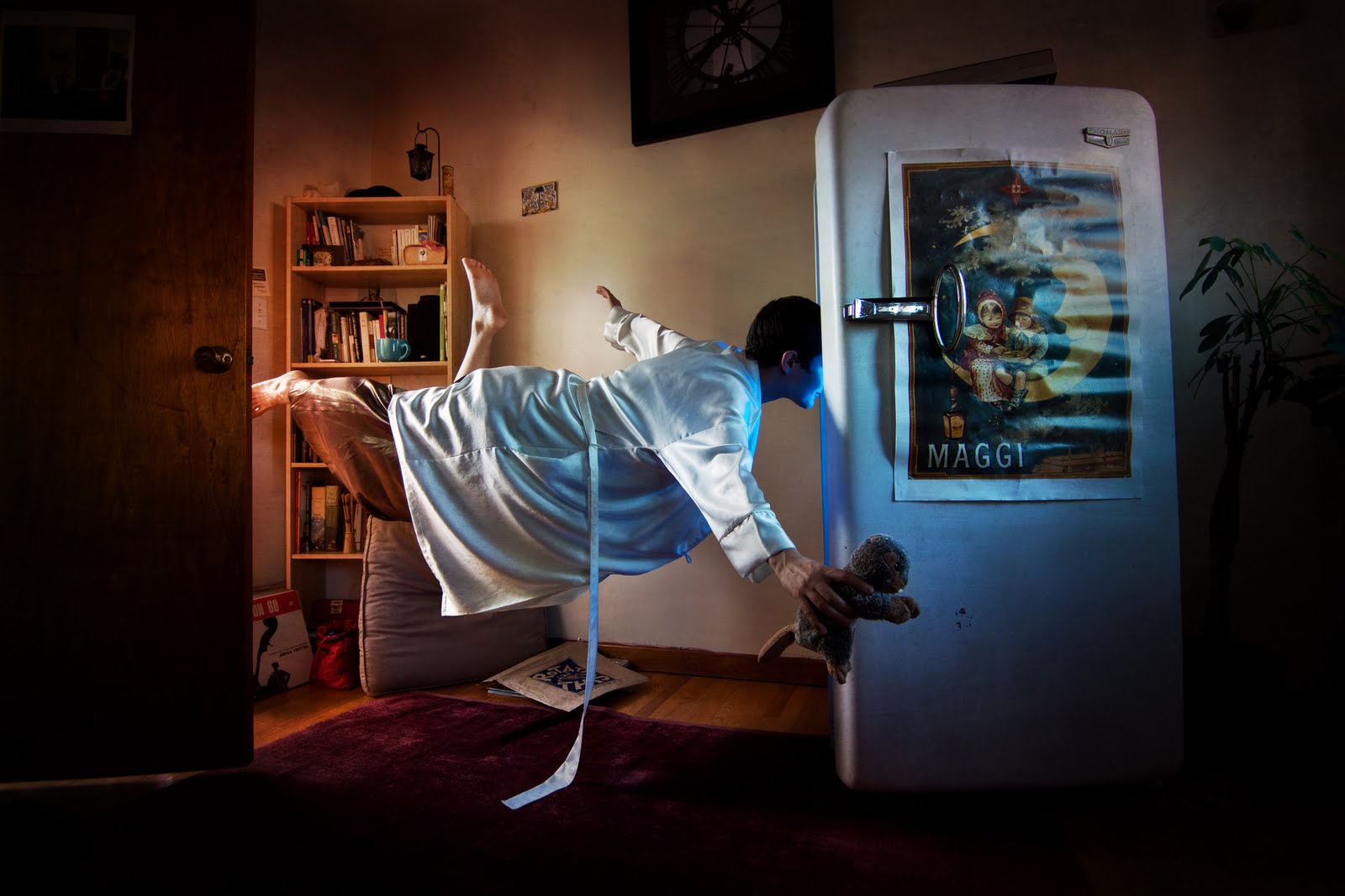 Shayne Gray Learns Photography Levitation