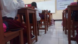 ruangan kelas 1 sd