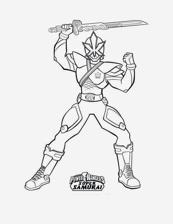 power rangers samurai coloring pages | Print Images Cool Power Rangers Samurai Coloring Pages ...