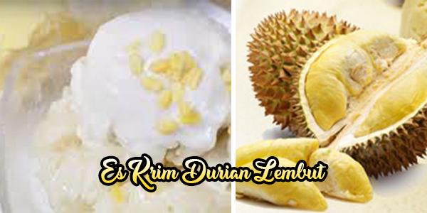 Es Krim Durian Lembut (Mudah dibikin di Rumah)