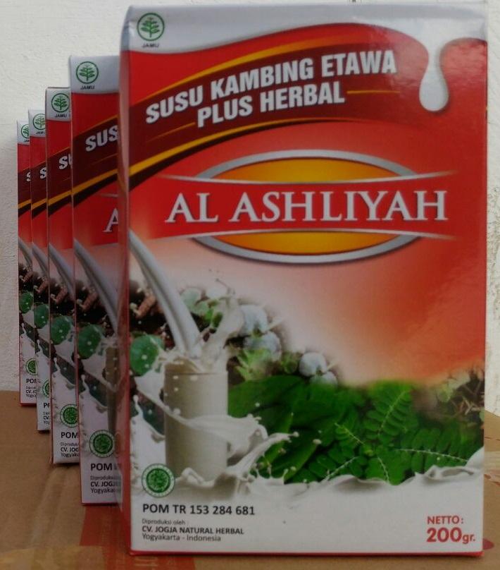 Susu Kambing Etawa Al Ashliyah Sachet 10x20gr Madinah Online Store