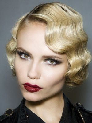 Model Rambut Finger Wave
