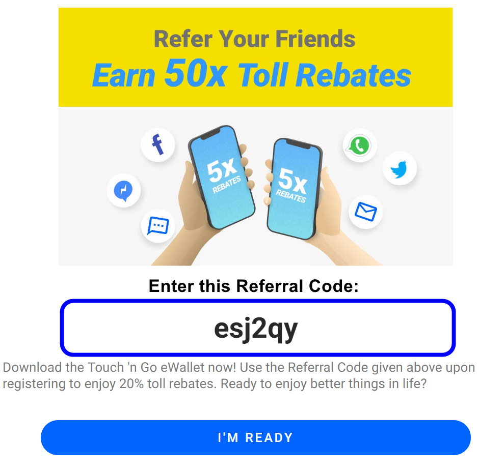 Finance Malaysia Blogspot How To Get 20 Toll Rebates Via Touch Ngo E Wallet Paydirect Rfid
