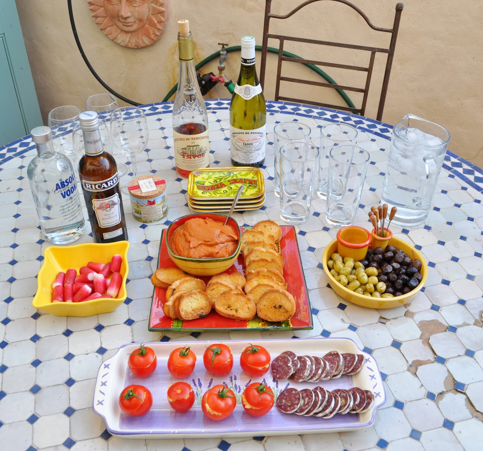 Canapé Apéritif Tapenade Our House In Provence: Aperitif, A Wonderful French Custom