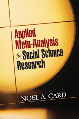 Applied Meta-Analysis for Social Science Research (Methodology in the Social Sciences) - Free Ebook Download