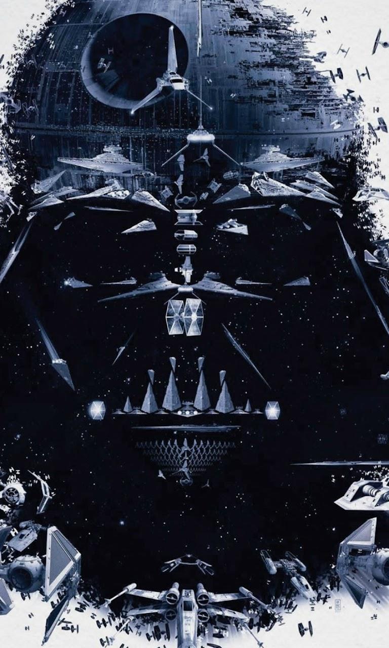 New Android Wallpaper Star Wars Darth Vader Spaceships