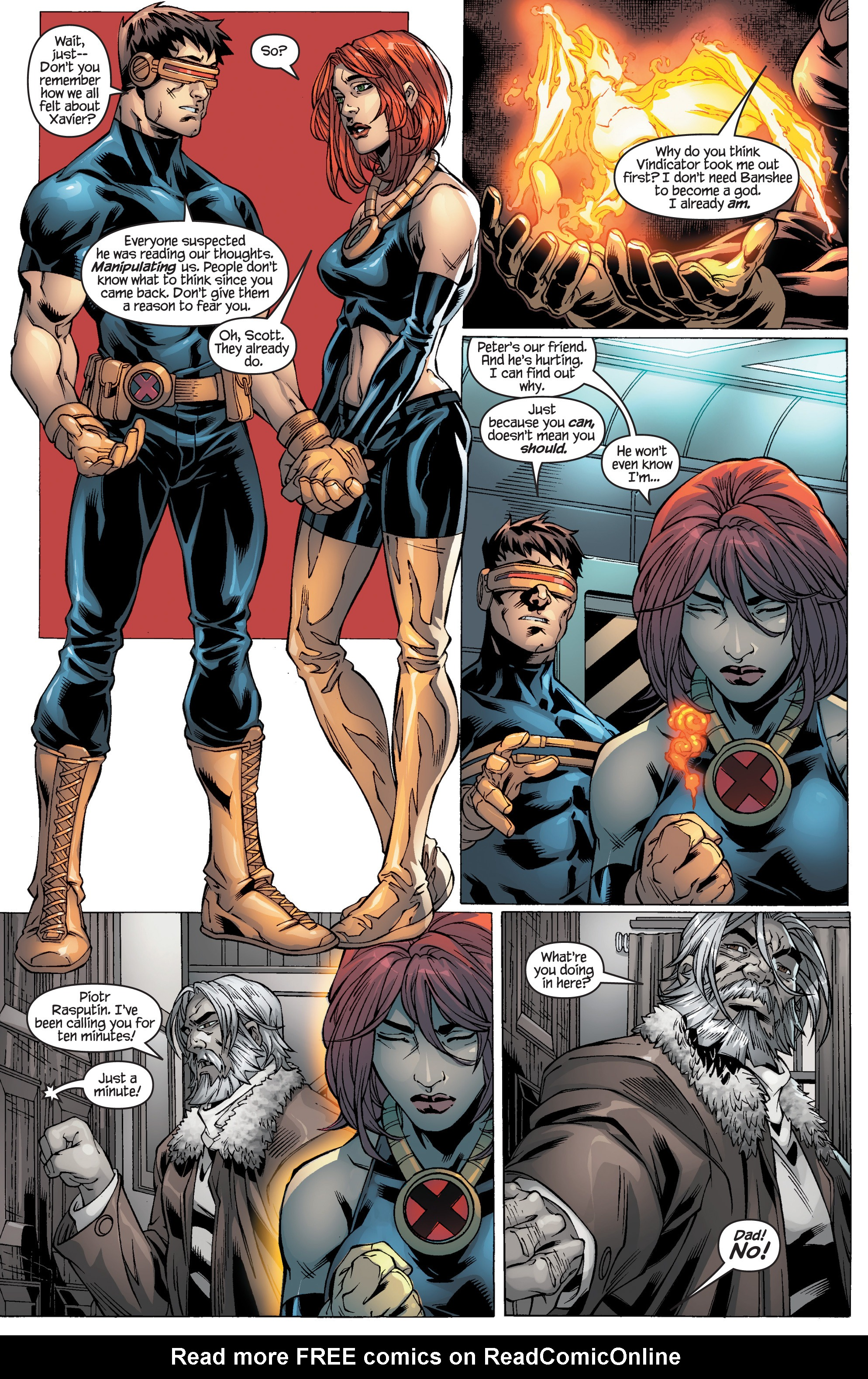 Read online Ultimate X-Men comic -  Issue #94 - 16