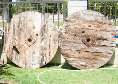 Cable Wooden Wheels