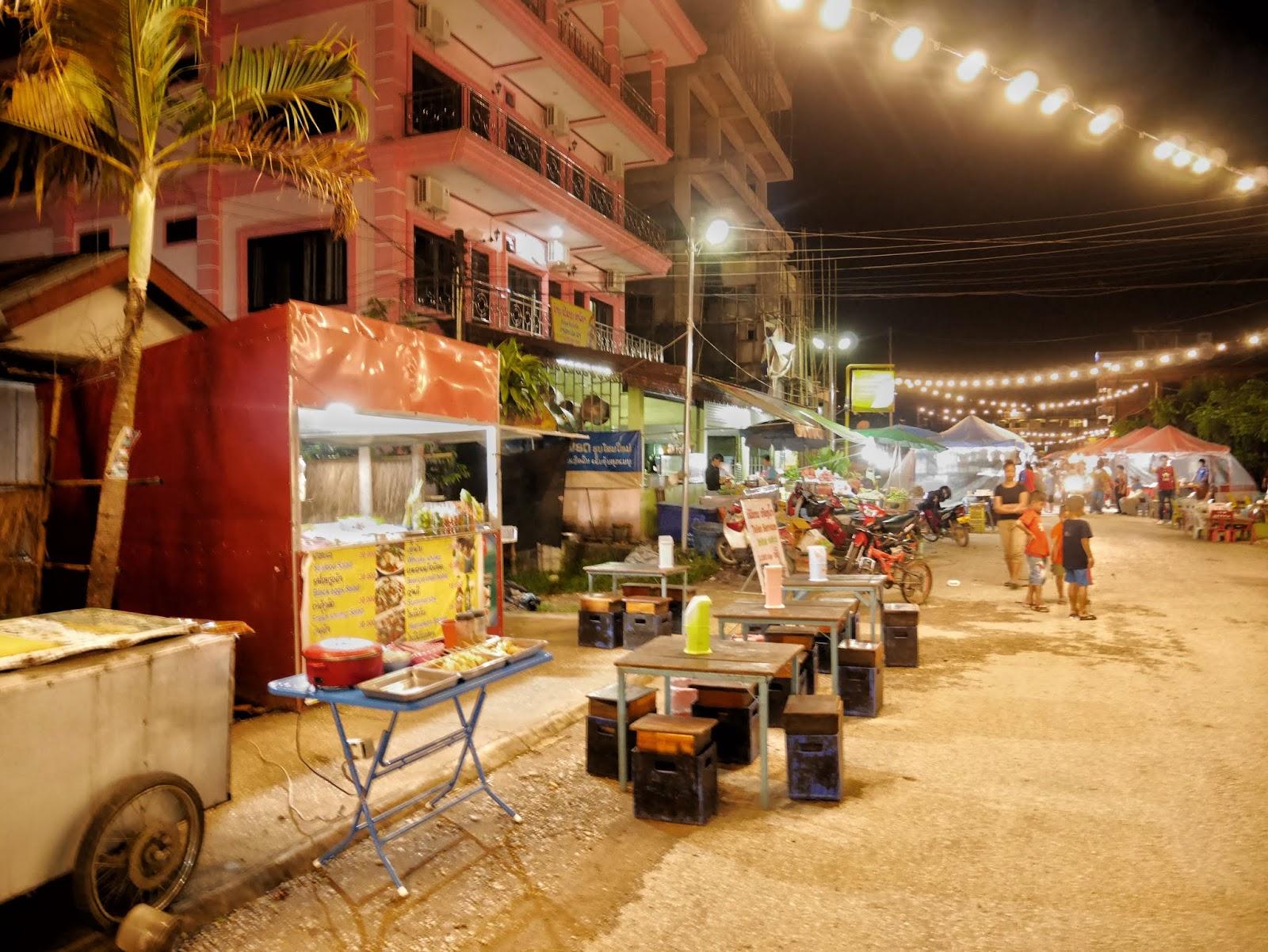 Vang Vieng Night Market