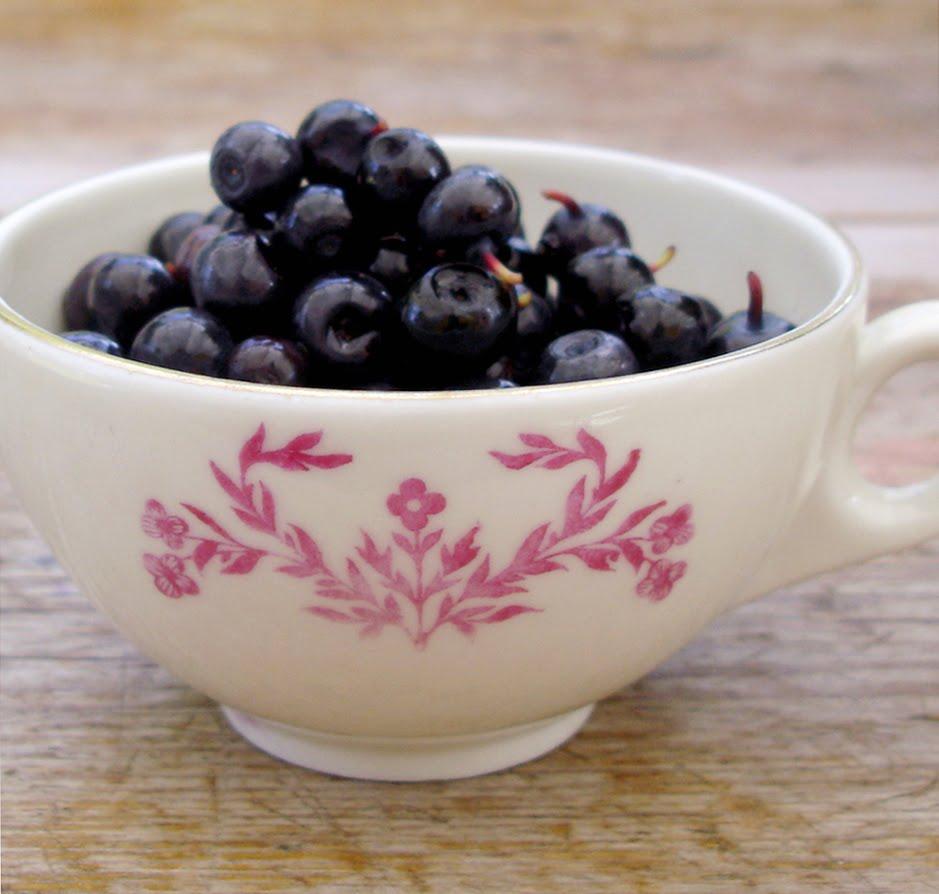 lindas recept: blåbär-rabarbermarmelad