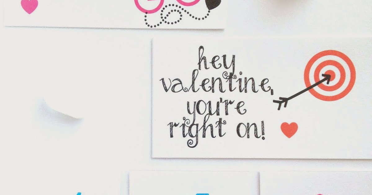 PaperCharm: Simple Happy Valentines, Free and Printable