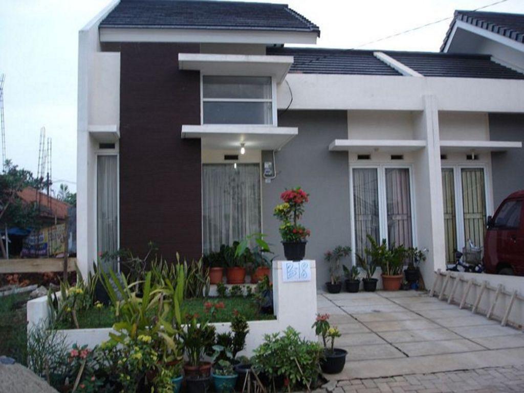 contoh rumah modern minimalis sederhana terlihat menawan