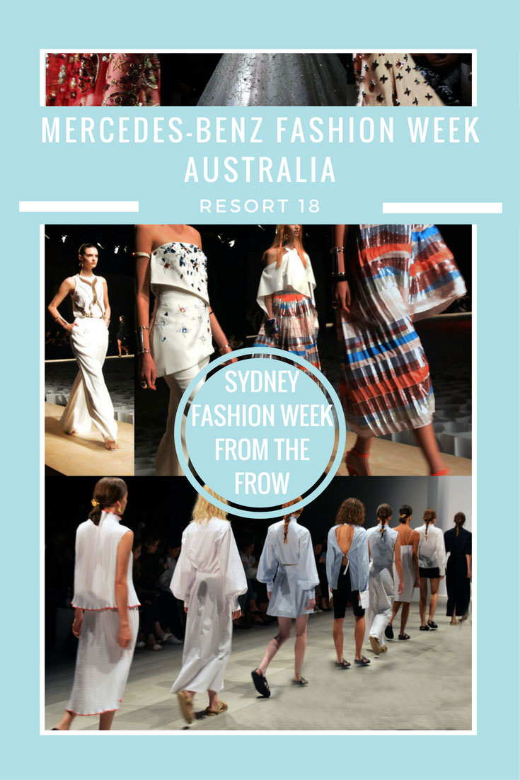 mercedes benz fashion week australia MBFWA resort 18 collections
