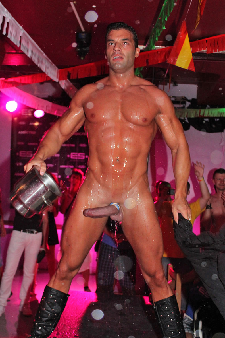 Naked Gay Stripper 74