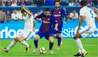 Barcelona Kalahkan Madrid Dengan Skor Tipis