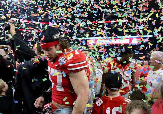 College football Ohio State Buckeyes football, USC Trojans football, Cotton Bowl Classic, Sam Darnold, J. T. Barrett, 