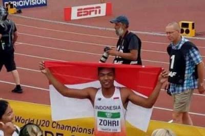 Zohri - Sang Juara Dunia, Prestasi yang Bisa Memotivasi Cita-Cita Siswa