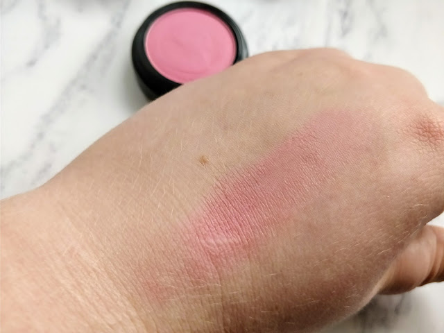 MUA Luxe Whipped Velvet Blush in Hedonic Swatch