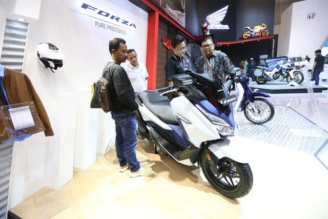 AHM Umumkan Harga Atraktif Honda Forza