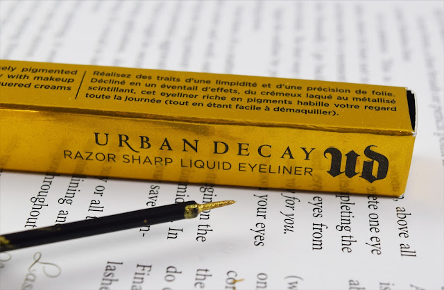 Urban Decay Razor Sharp Liquid Eyeliner in Goldrush