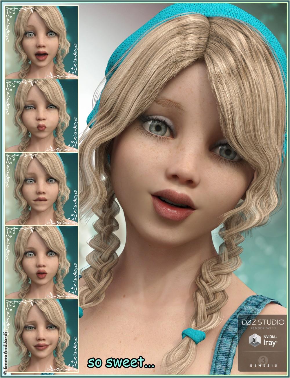 Download DAZ Studio 3 for FREE!: DAZ 3D - Camdyn Tween Julie 7