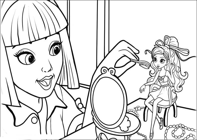 Desenhos Da Barbie Polegar