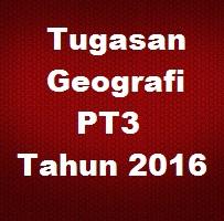 Contoh Jawapan Kerja Kursus Geografi PT3 2016 (Selangor)