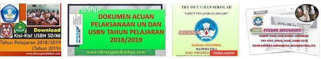 Download Kisi-Kisi USBN SD/MI Tahun Pelajaran 2018/2019 (Tahun 2019), http://www.librarypendidikan.com/