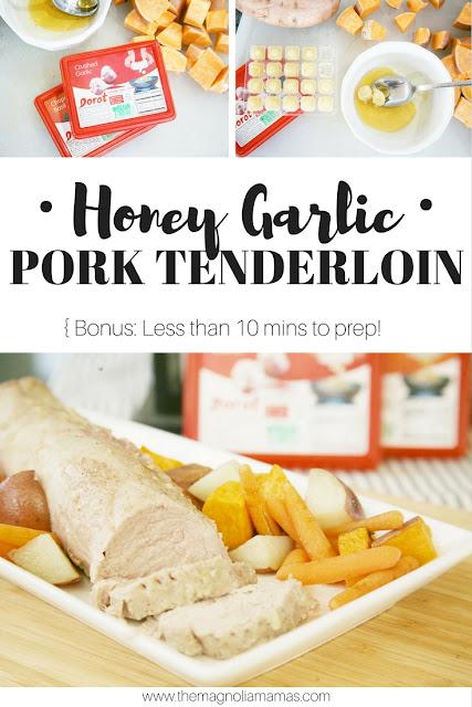 Honey Garlic Pork Tenderloin recipe. Great quick and easy recipe for dinner!