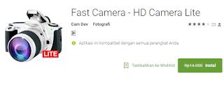 Fast Camera - HD Camera Lite