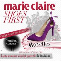 Castiga o pereche de pantofi  de la Yvette