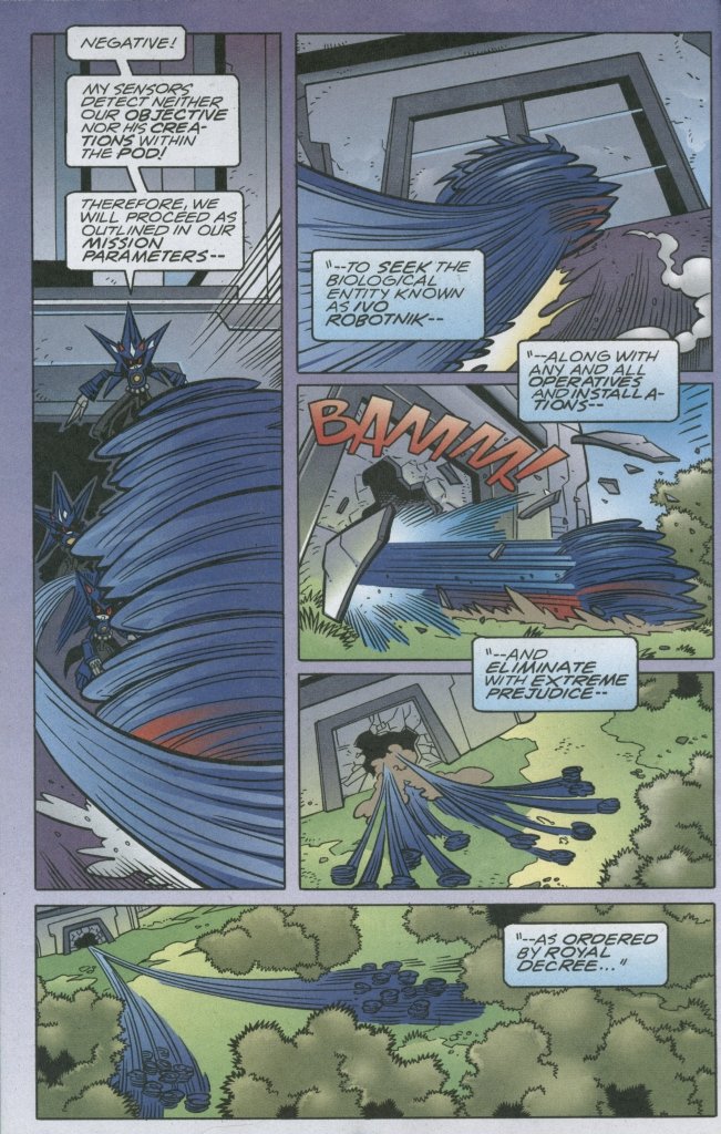Read online Sonic The Hedgehog comic -  Issue #158 - 10