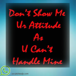 Whatsapp Attitude image