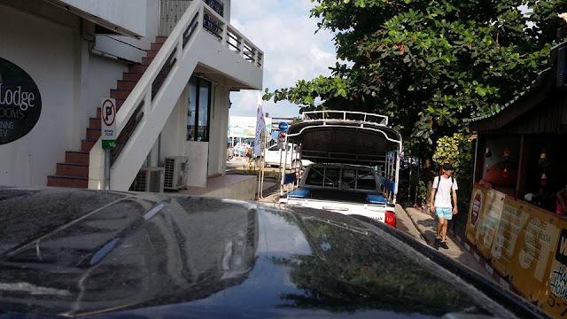 taxi truck thailand