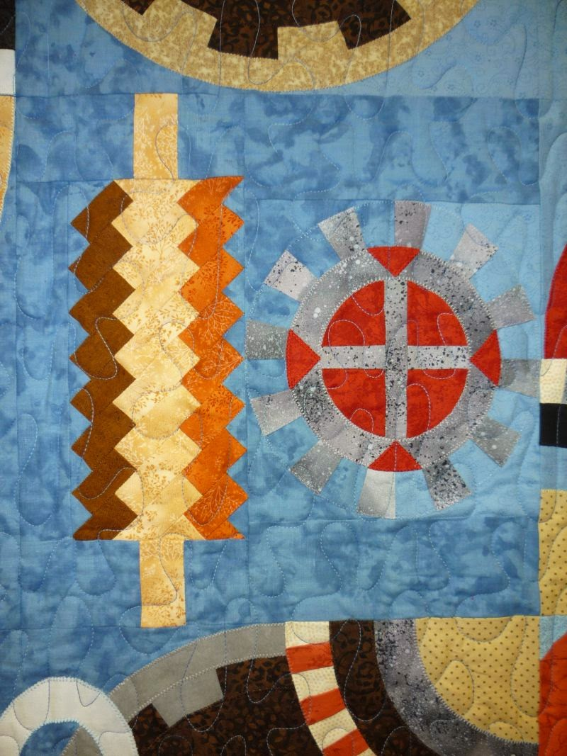 North Winds Quilting The Clock Quilt