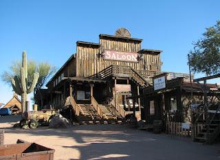 Wild West Old Saloon