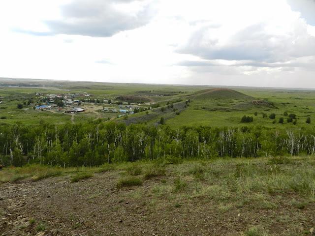 Вид с горы Любви на гору Шаманка