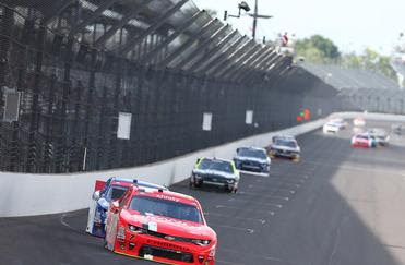 Justin Allgaier (JR Motorsports) Race Report from #nascar Lilly Diabetes 200