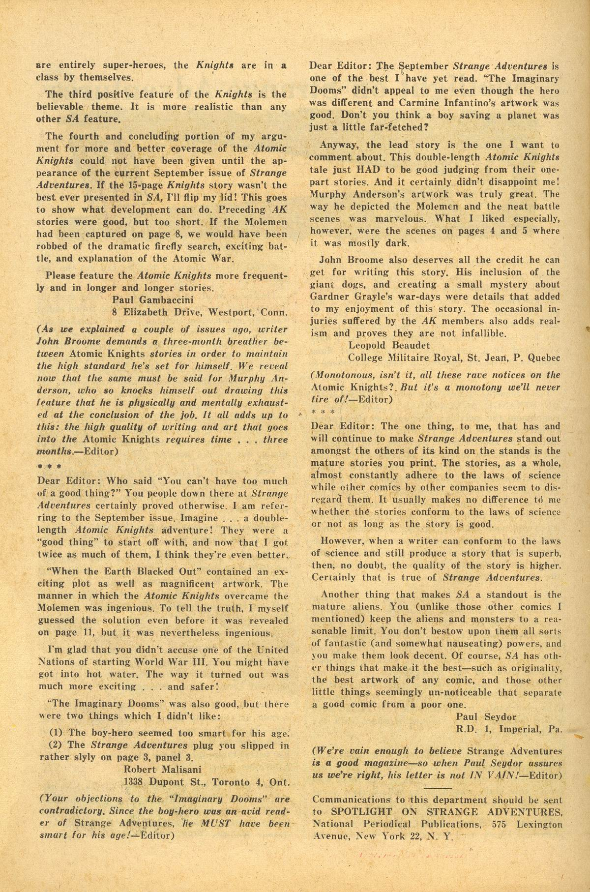 Strange Adventures (1950) issue 148 - Page 24