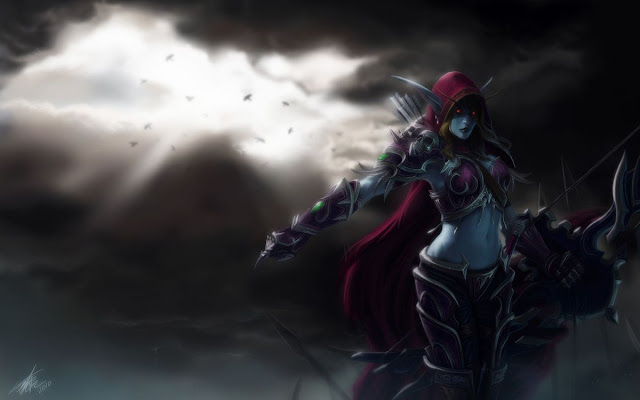 lady sylvanas windrunner wallpaper 7