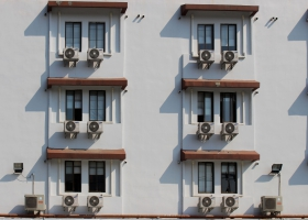 Picture of air conditioners.