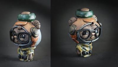 Camo GeekWok Star Wars Resin Figure by UME Toys