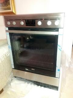 Κουζίνα AEG 347056V-MN δοκιμή