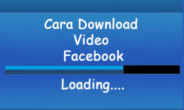 ilustrasi cara proses unggah video facebook