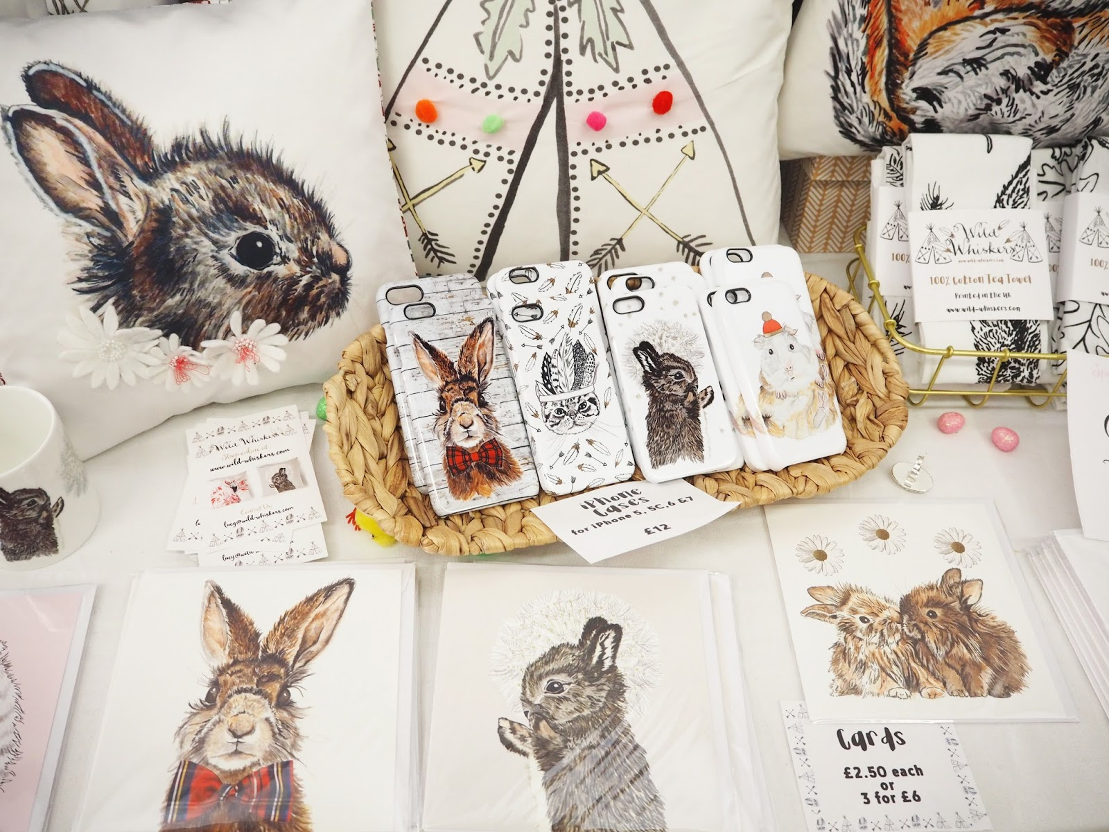 Wild Whiskers Handmade Accessories, Katie Kirk Loves, UK Blogger, Brighton Blogger, West Sussex Blogger, Support Handmade, Handmade in the UK, Handmade Gifts, Hand Illustrated, Etsy Sellers, Handcrafted, Handmade Is Better, Craft Blogger, Small Business, Shop Small